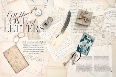 letter-writing book extract